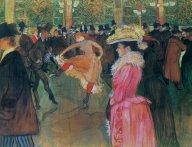 Henri de Toulouse-Lautrec: Tánc a Moulin Rouge-ban